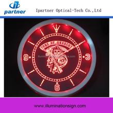 Low Price Custom Digital Led Wall Clock For Sale