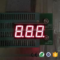0.36 inch 3 digits led display