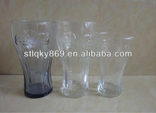 2012 Hot Selling Colorful Coke Glass Cup