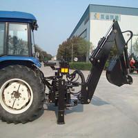CE approved backhoe loader 3 point hitch
