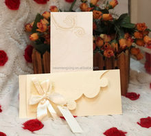 Newest branded handcraft wedding card