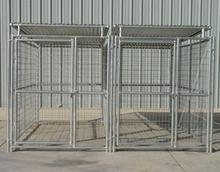 Welded wire dog kennel metal dog kennels waterproof dog kennels