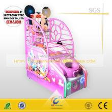 mini basketball for kiddie figure-shaping basketball game machine for fitness