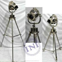 Antique Floor Standing Lamps, Marine Floor Tripod Lamps, Indoor Standing Lamps