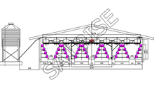 hot sale multi-tier chicken cage design