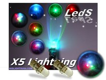 7 Changing Colors Led Light Bulbs for 194/158/168/ 259