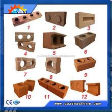 Latest products manual hollow block maker/clay brick kiln machine
