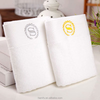 pure white cheap hand towel