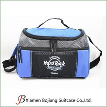 Custom fitness freezable shoulder and tote lunch cooler bag for picnic