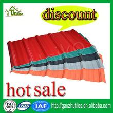 0.7mm~3.0mm lightweight pvc plastic roof panel/discount corrugated roof sheet/kerala roof tile prices