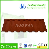 color stone coated steel thermal insulation roof tiles(NUORAN)