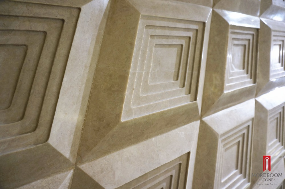 ML-A011 MONO 3D marble carving for wall decor 1.jpg