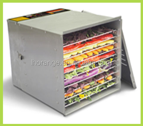 Perfect!!! 10-tray Food Dehydrator/stainless Steel Food Dehydrator Machine