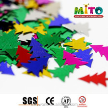 MTLP-CR013 biodegradable confetti of christmas tree shape