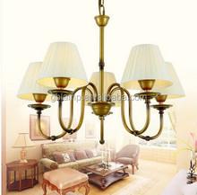 Gold led chandelier & led pendant lamp with Iron