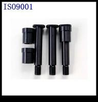 Black anodized aluminum 6061 7075 parts cnc turning parts