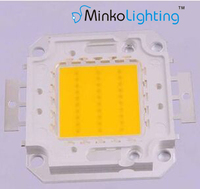 30w led COB chip epistar bridgelux walsin lihua use in flood light 100lm/w DC30-34V