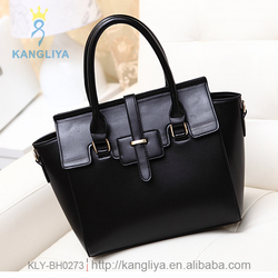 Classical style famous bag ladies tote wing handbag top pu leather hard shape bags