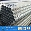 Top quality black iron roofing galvanized steel pipe