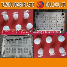 Precise plastic injection 31mm plastic cap mold for mineral water bottle