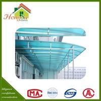 Easy installation temperature resistant garage polycarbonate roofing