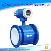 low cost price electromagnetic flowmeter used for water and sewage with digital display and 4-20ma output/485 communication