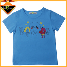Kids branded silkscreen printing AZO FEEE t shirt companies looking for agent