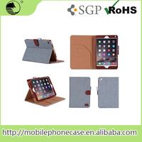 Big promotion!!! flip case, tablet case, pu case for iPad mini 4