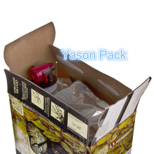 Yason bag in box for fruit 3l bag in box wine wine bag in box holder product