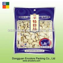 Customized various kind of snack food bag/Clear snack food bag with colorful printing/Plasic sanck food bag
