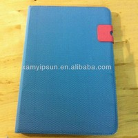 Promotional leather case Cover for tablet PC mini case
