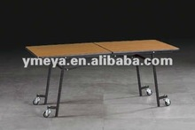 wheels dinning table