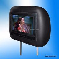 "7""Best Selling! Taxi headrest,Taxi Headrest advertisement LCD"