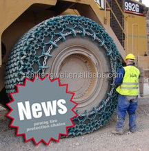 KAWASAKI KLD85Z Loader tyre protection chains