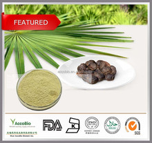 TOP quality natural Saw Palmetto Extract with 25% 45% fatty acid(plant import from USA)