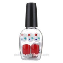 Wholesale nail polish bottle, nail art design,full false nail with glue