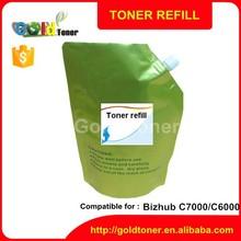 bizhub C6000 C7000 bulk refill toner powder for konica minolta