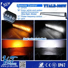 "Y&T 51"" Off-Road Led Work Strobe Light Bar Ip67 - Flood/Spot Auxiliary Lamp Combo"