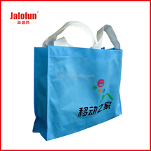 Big white branded non woven bags