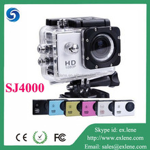 High quality full hd 1080p waterproof sport action camera sj4000 with Novatek NTK-96650 chipset