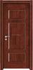 JJW-3017 2015 New design German splicing wooden door/Melamine mould pressing door