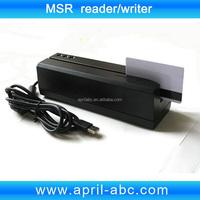 3 Tracks Magnetic strip card reader writer compatible with MSR206