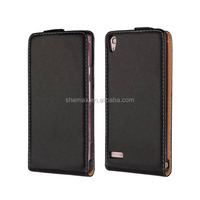 Phone Leather Flip Case Cover For Huawei P6, For Huawei Ascend P6 Case