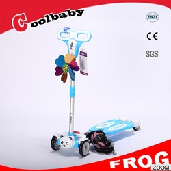 2015 non flashing new arrival scooter kids scooter 3 wheel