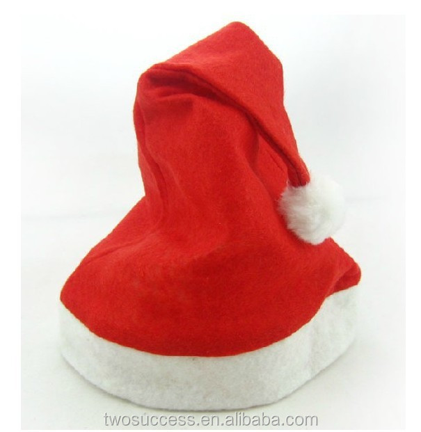 christmas hat Red and White Deluxe Father Christmas Party Santa Claus Hats .jpg