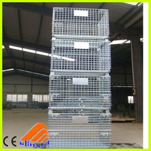 flat rack container for sale,steel mesh cage,wire mesh container used for storage