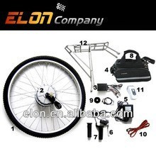 350W High speed brushless DC hub intelligent motor electric bike kits(Kits-6)