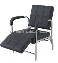 2015 Popular Mail-order Hair salon reception chairs/Black Commercial beauty salon waiting chairs