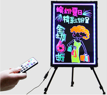 Different Flash Modes Led Advertising Board For decoration/notic/children use Led Drawing board