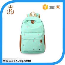 School laptop backpack bag, trendy school bags for girls